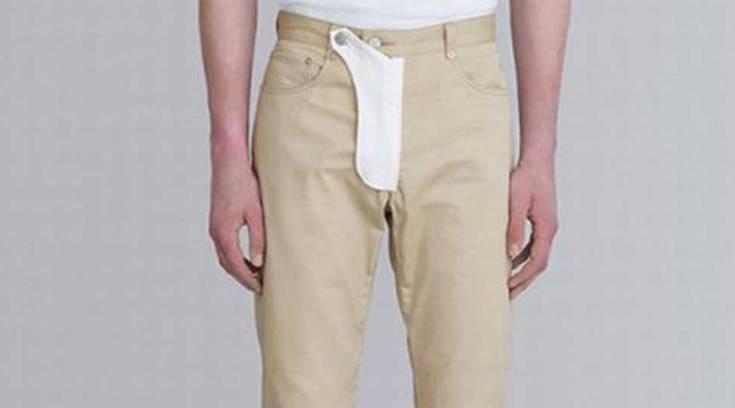 Παντελόνι με τσέπη για το πέος είναι η τελευταία τάση της ανδρικής μόδας