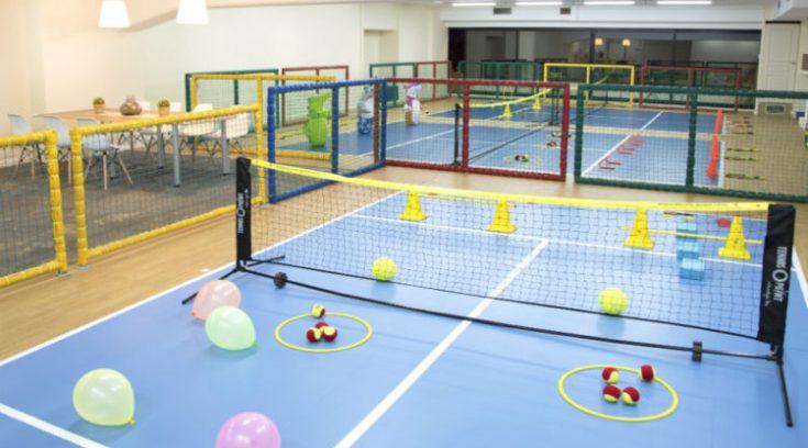 Mini Tennis Club: Για μικρούς πρωταθλητές παντός καιρού! (ΦΩΤΟ)