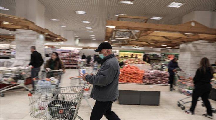 Οι μάσκες στα σούπερ μάρκετ υποχρεωτικές μόνον για τους εργαζόμενους