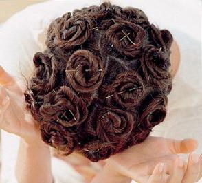 Como colocar o cabelo