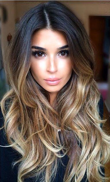 Cięte Włosy Długie Włosy Piękne Fryzury Na Długie Włosy