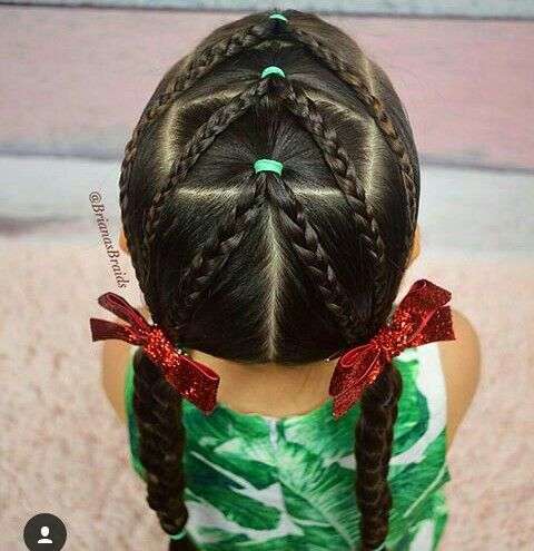 Hairstyles for girls based on braid