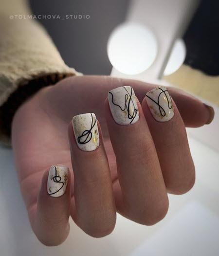 Abstração de manicure