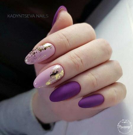 Manicure com ouro