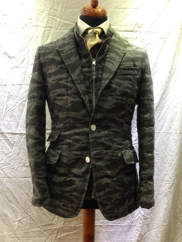Camouflage Quilted Jacket - camouflage gilet