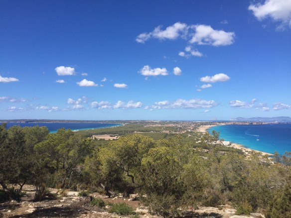 The Hills of Formentera