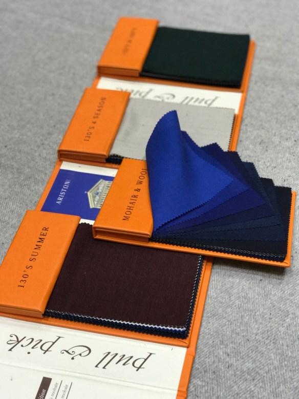 Ariston Uniti (Plain) Bunches: Mohair & Wool - 130's Summer - 130's 4 Seasons - 150's & 160's