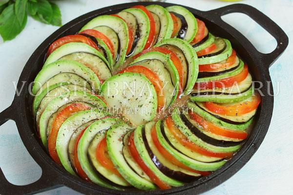 hogyan készítsünk ratatouille-t diétára