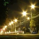street-light glare