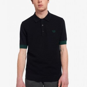 FRED PERRY POLO BLACK