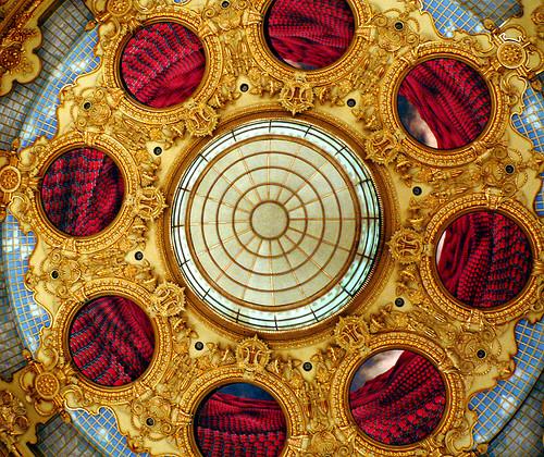 Plafó del sostre del Gran Teatre del Liceu - Obra d'en Perejaume