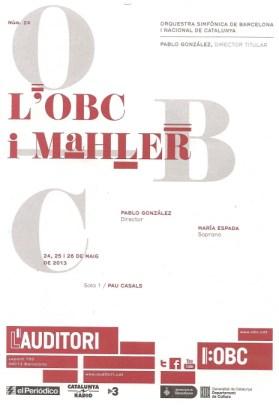 OBC i Mahler - cartell