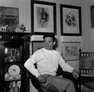 Pasolini al seu pis de Monteverde Nouvo, via Fontelana, 86