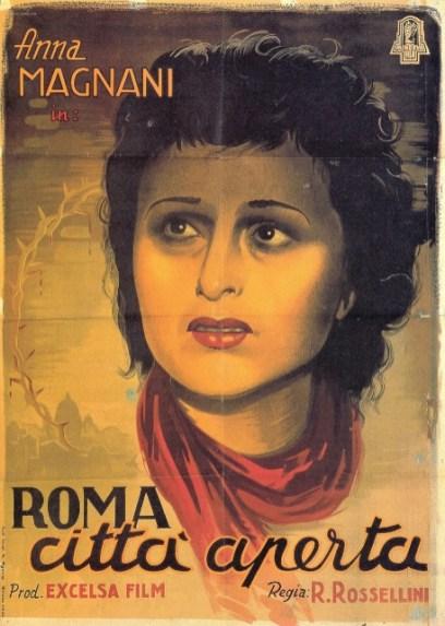 Pasolini - Cartell de Roma, città aperta