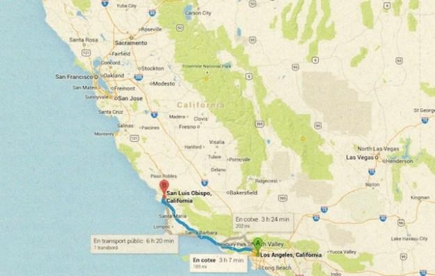 Los Angeles - San Luis Obispo