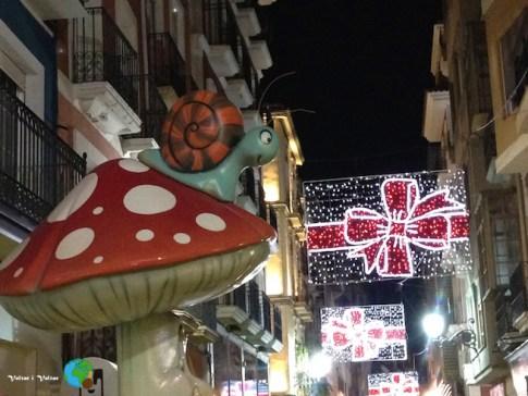 Cargol als carrers d'Alacant-imp