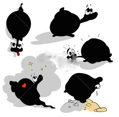 5 cargols a la recerca d'afecte