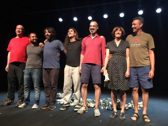 Y LOS HUESOS HABLARON - Grec2016 - Voltar i Voltar - 1