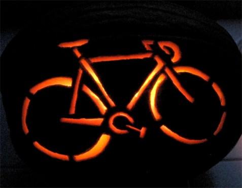 pupkin carving bike