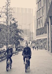Enjoying electric cycles in London