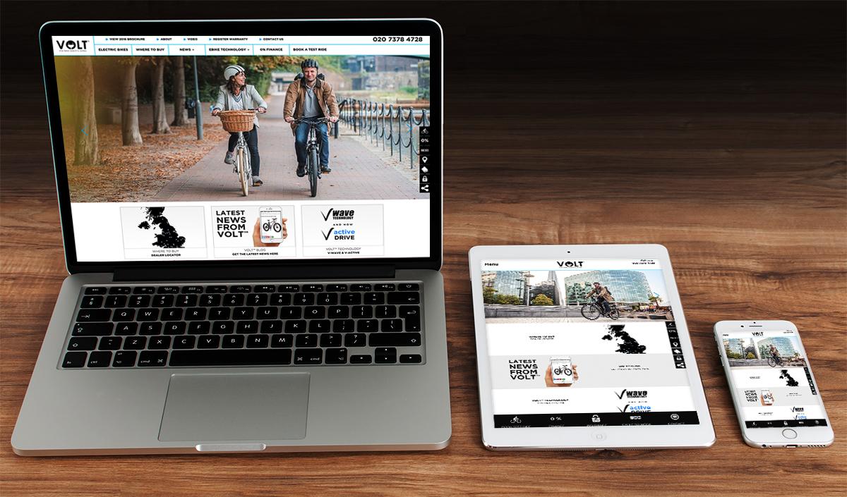 New VOLT web site