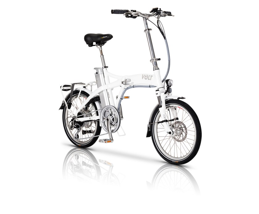 White VOLT Metro e-bike
