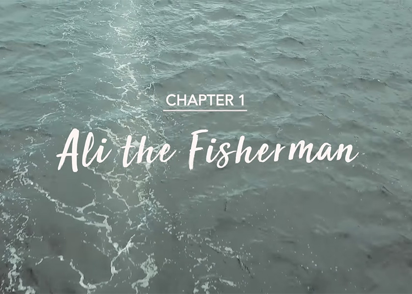 Volt Stories Chapter 1: Ali the Fisherman