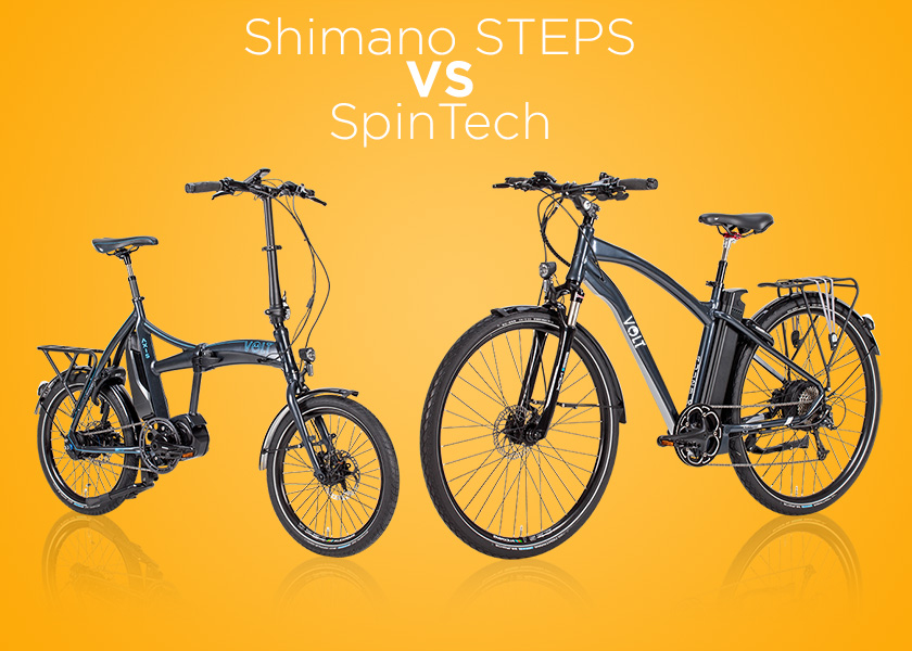 Shimano Steps VS Spintech explained