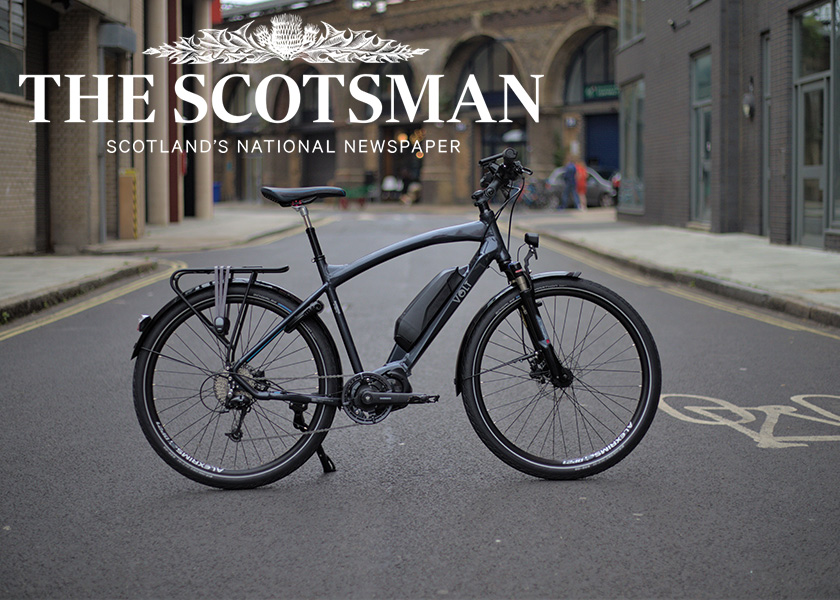 The Scotsman on the Volt Connect and the state of ebikes in Scotland