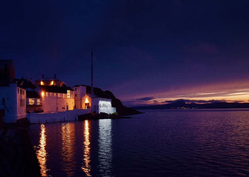 Sunset of Scottish Islay
