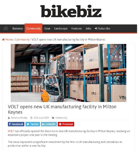 Volt Factory - BikeBiz