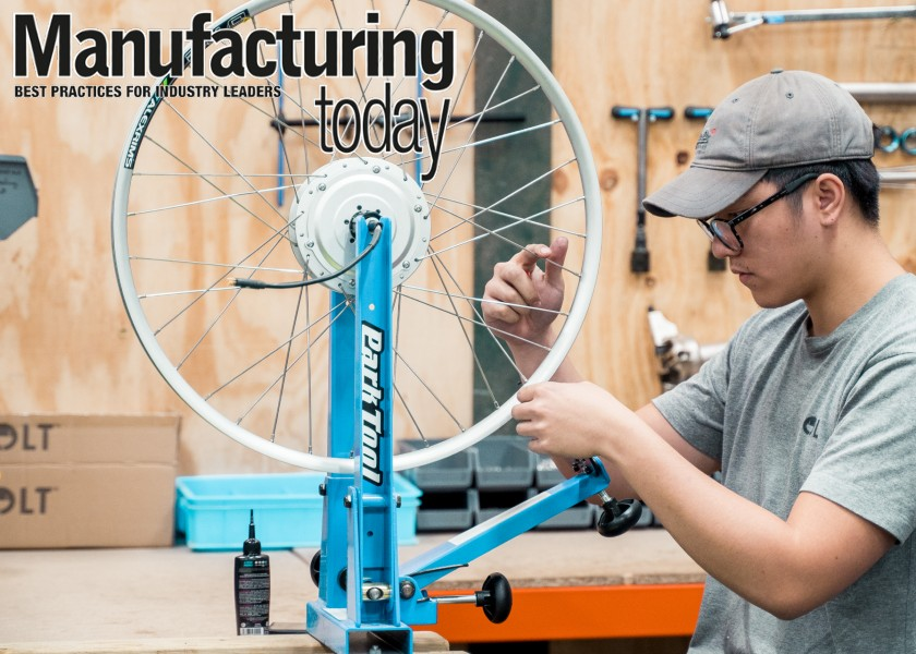 Volt factory in Manufactoring Today feature
