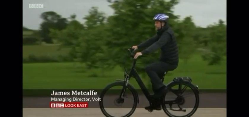 Volt Bikes BBC Look East video thumb