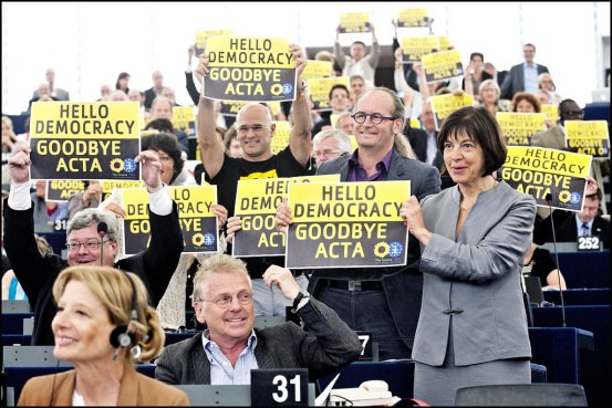 Goodbye ACTA - Hello Democracy