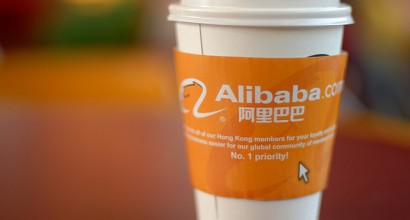 Paul jets off on a flying visit to Alibaba