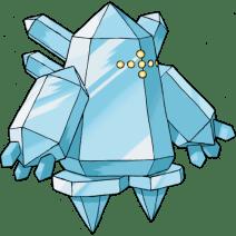 Regice, the Iceberg Pokémon.