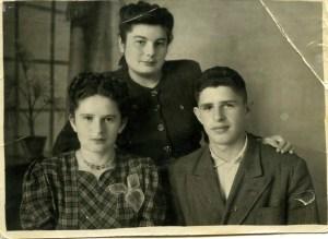 grandma soviet union ukraine 1949