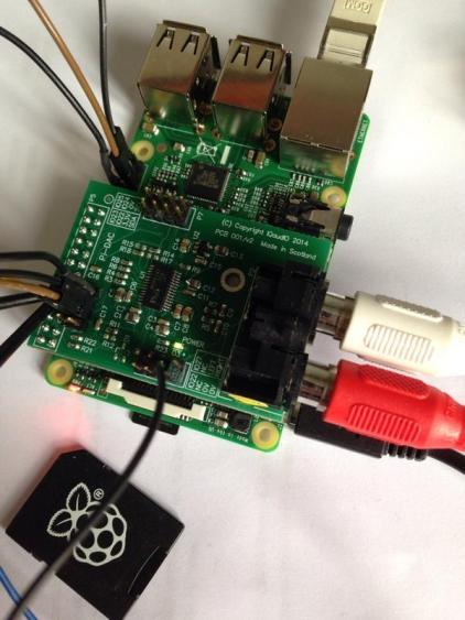 Raspberrymodelb+i2sdac