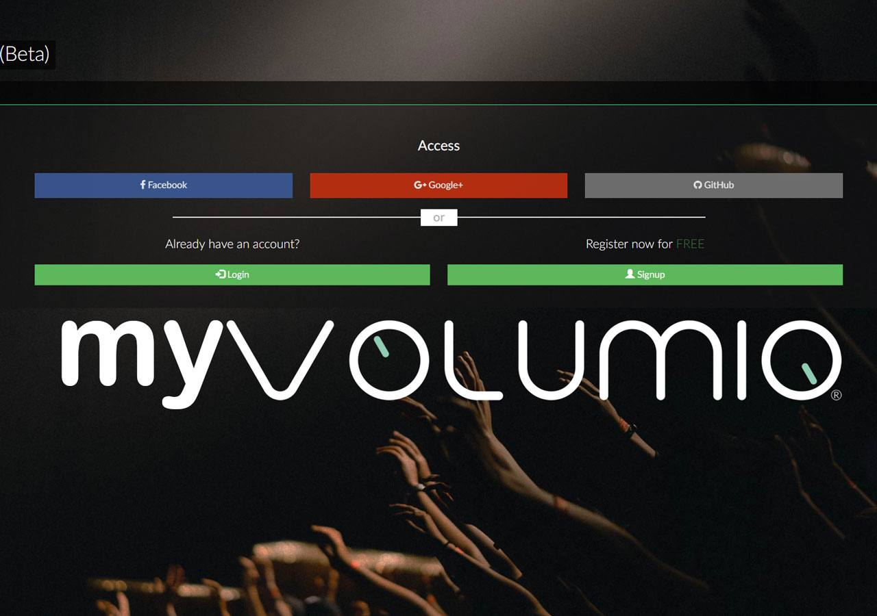 MyVolumio: the new Audiophile cloud echosystem for Music