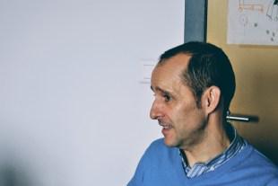 Retrato del profesor Juan Mª Prieto