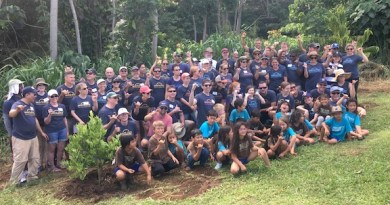 workday volunteers on their company retreat in kauai