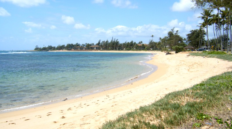 Hostels on Kauai are near Kapaa Beach Park