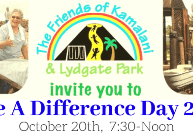 National Make a Difference Day in Lydgate Park