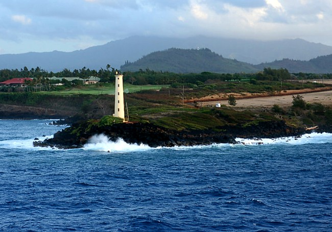 Kauai Coastal Cleanup on the Rocky Coastline of Ninini Point Lighthouse