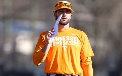 Tennessee Baseball Stuns Texas Tech 6-2 In Round Rock Classic
