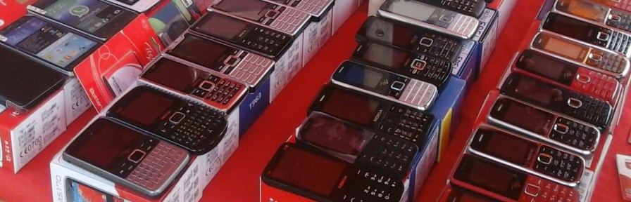 Roadside phone sales