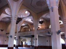 Inside the Ghaddafi National Mosque