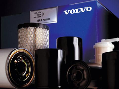Filtry Volvo