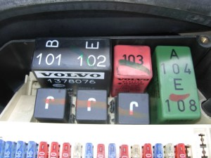 #54 Fuel Pump Relay PM | 1997 Volvo 850 Wagon Project
