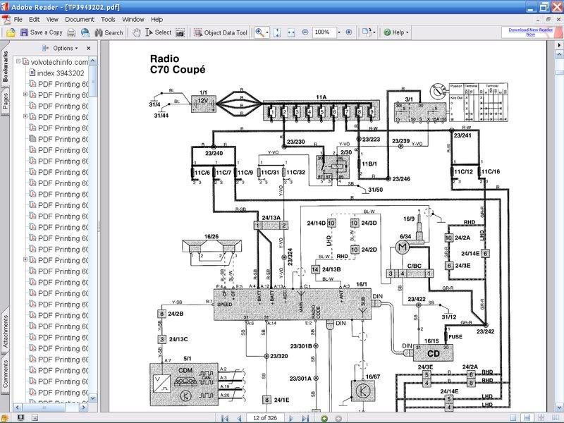 Volvo 850 Radio Wiring Diagram Wiring Diagram Volvo V70 Stereo Wiring  sc 1 st  Auto-Acce.com : aftermarket radio wiring diagram - yogabreezes.com